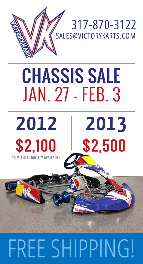 Victory Kart - New Chassis MEGA Sale